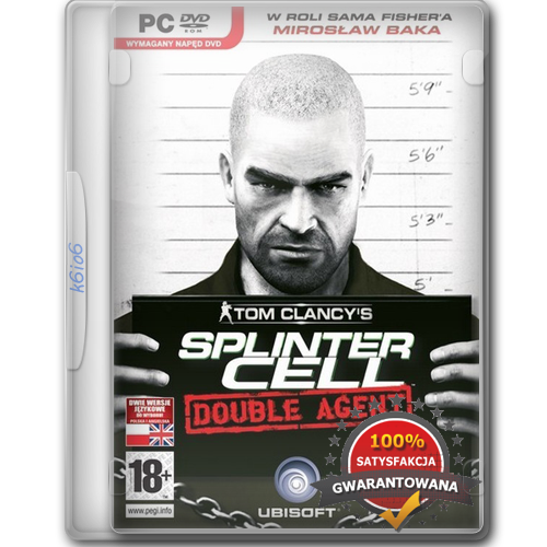 Tom Clancy's Splinter Cell: Double Agent [2006][DVD9][PL][Unleashed]