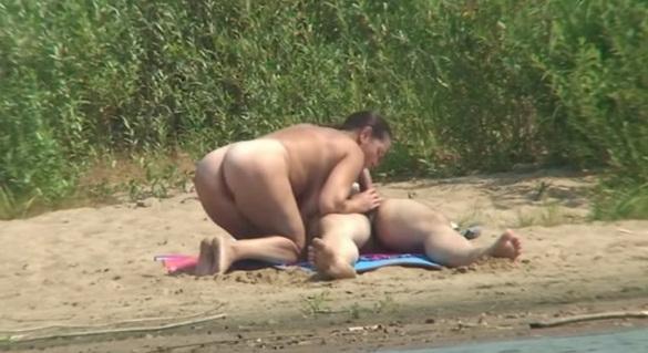 Реальный секс скрытой камерой русские на пляже