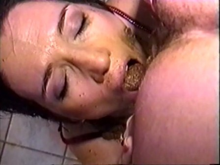 Shit licking gangbang
