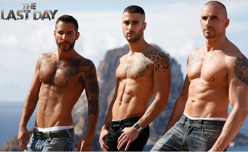 The Last Day: Jonathan Agassi, Will Helm and Kriss Aston