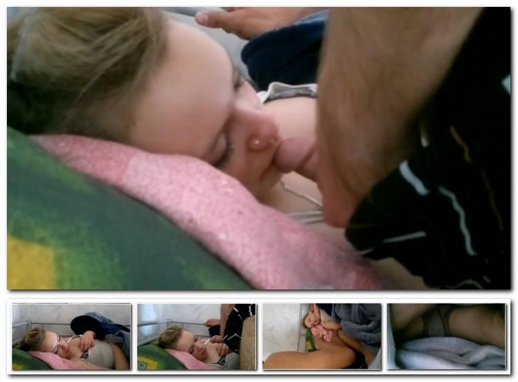 Порно спящие в рот фото