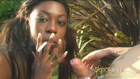 Smokers princess in porn video
