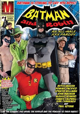 Batman &amp; Robin: An All-Male XXX Parody