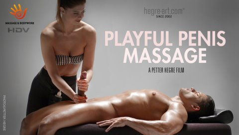 Playful Penis Massage (HDVideo)