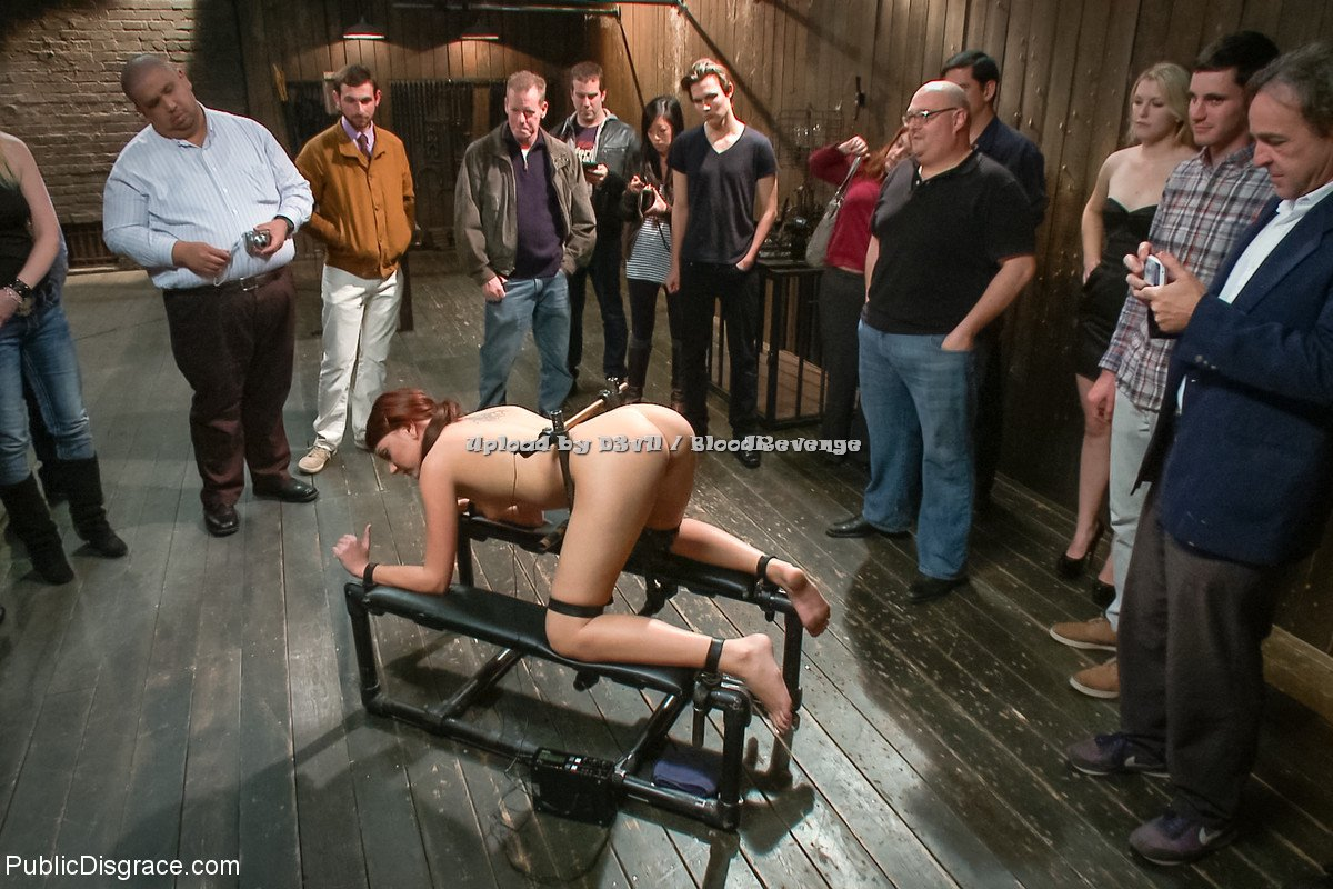 Chastity lynn bound gangbang 2012 part1
