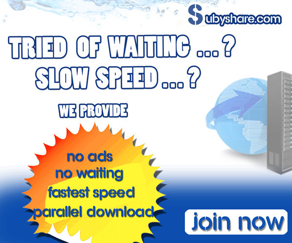 Buy Premium to Enjoy Unlimited FAST Donwload Speeds