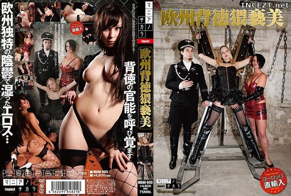 Cover [MANI-003] Europe back DS obscene US