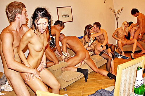 Girls gone wild island orgy