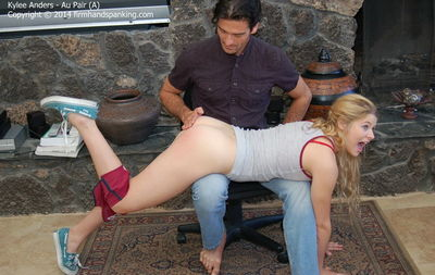 Under disobedient girl spank she the