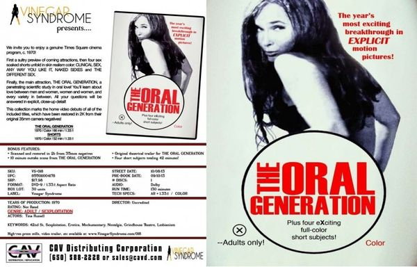 The oral generation 1970 2k restored