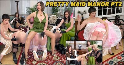 The English Mansion - Pretty Maid Manor Pt2 Goddess Miss Kelly, Governess Ely, Miss Vivienne LAmour, Mistress Evilyne, Mistress Sidonia