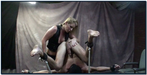 She Blows His Load On His Face Female Domination