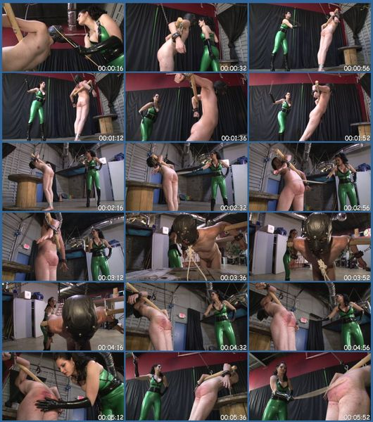 Pain From The Cane Female Domination