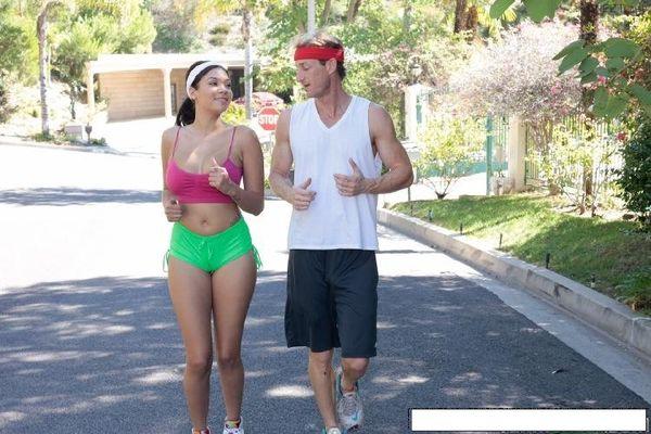 cassidy banks jogging