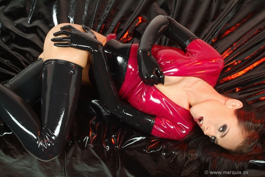 Gilrs In Latex Spandex Leather Rubber Boots - Rear Photosets - Full Collections HClips 1