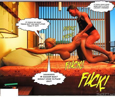 3d incest комикс