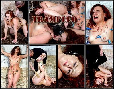 Trampled with Slavegirl Isabel Dean