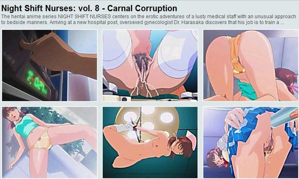Anime night shift nurses nude the