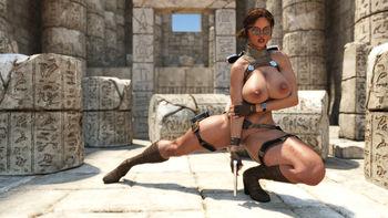 [3D Porn Comic] [ZZ2Tommy] Tomb Raider Sex Adventure