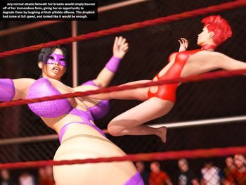 [3D Porn Comic] [Redfiredog] Squash Match. Part 2 - Tag Team