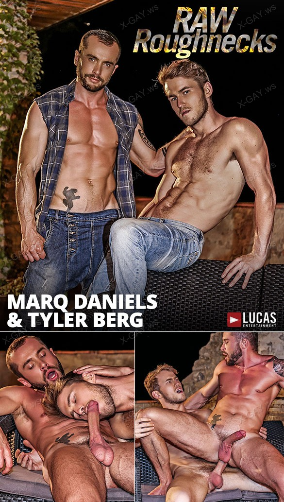 LucasEntertainment: Raw Roughnecks, Scene 3 (Marq Daniels Pounds Tyler Berg)