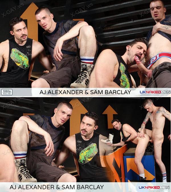 UKNakedMen: AJ Alexander, Sam Barclay