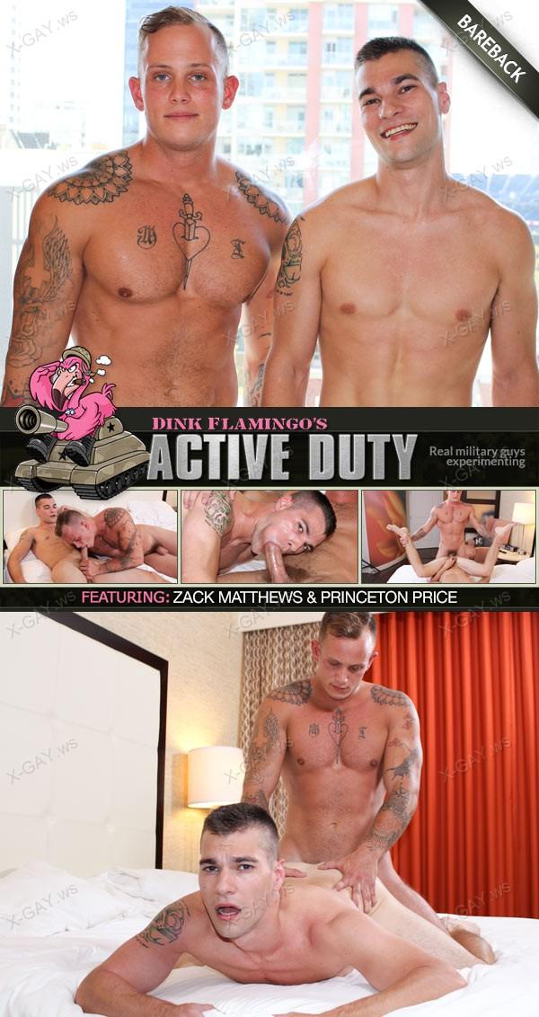 ActiveDuty: Princeton Price, Zack Matthews (Bareback)