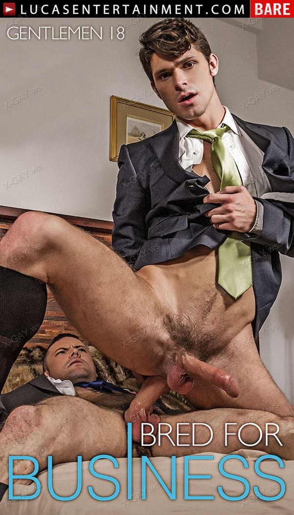 LucasEntertainment: Gentlemen 18: Bred For Business, Scene 2 (Devin Franco and Sergeant Miles Flip Fuck Bareback)