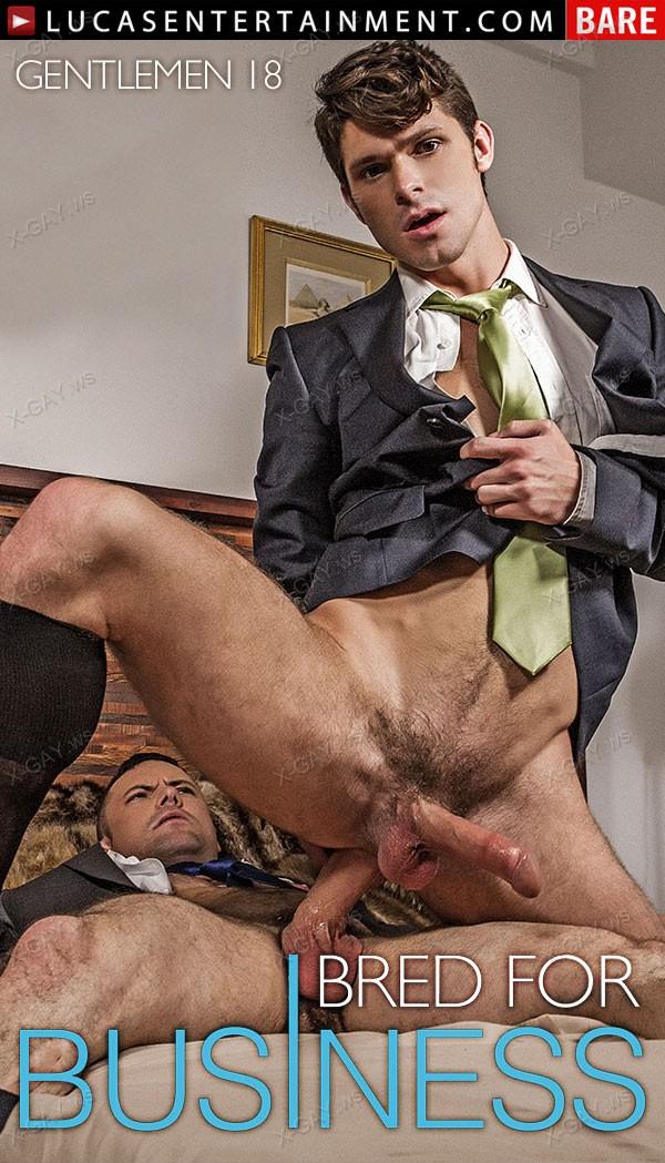 LucasEntertainment: Gentlemen 18: Bred For Business, Scene 2 (Devin Franco and Sergeant Miles Flip Fuck Bareback)