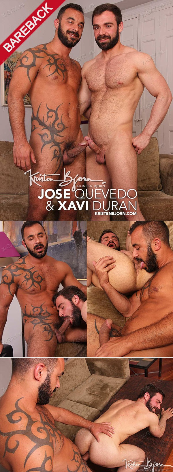 KristenBjorn: Sex Men, That Men Have (Jose Quevedo, Xavi Duran) (Bareback)