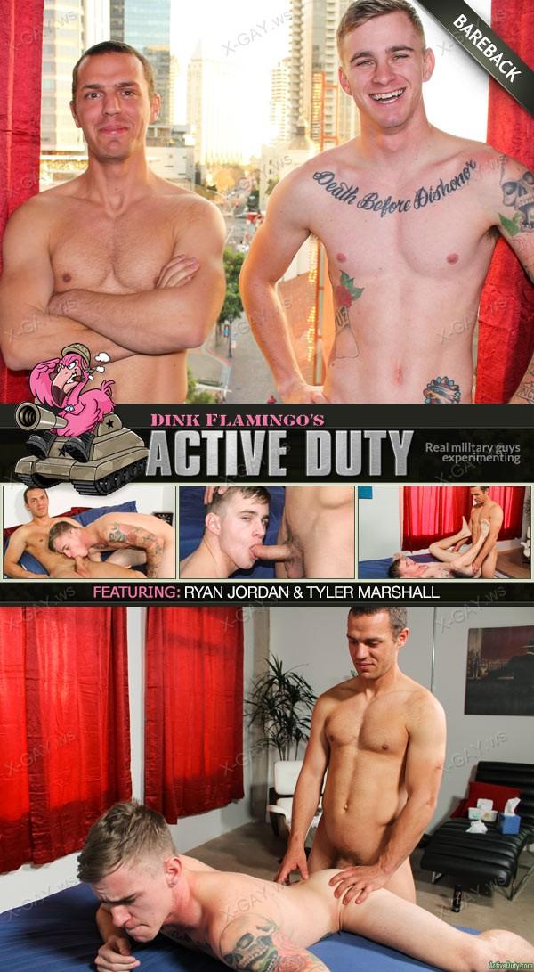 ActiveDuty: Ryan Jordan, Tyler Marshall (Bareback)