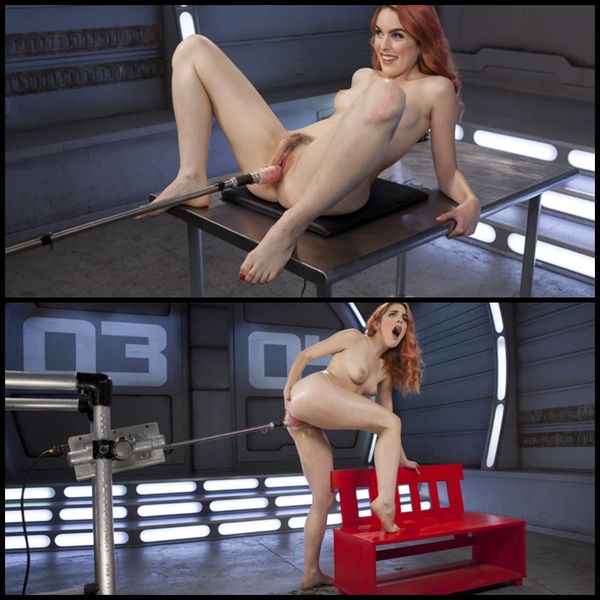 (15.02.2017) Spanish Red Head Machined Fucked Into Uncontrollable Orgasms!