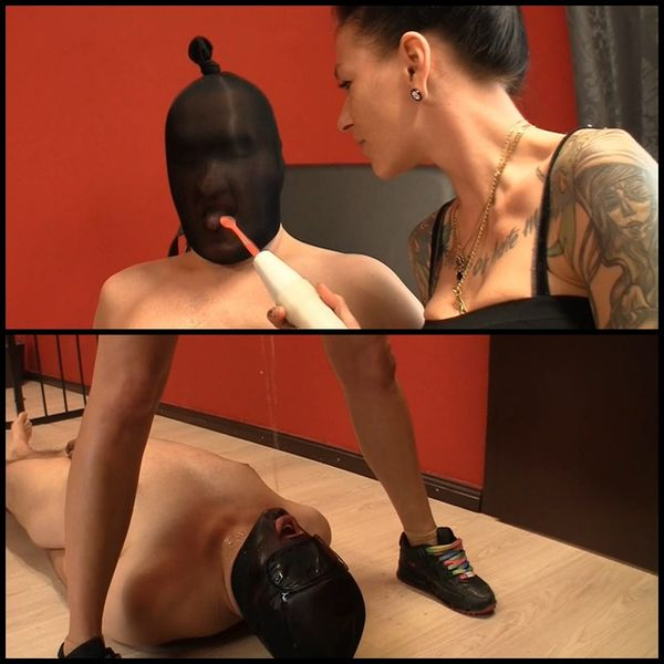 (17.02.2017) Nasty ball and pee torture