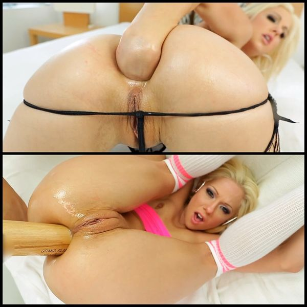 Holly Hanna's Ass Fucked Open