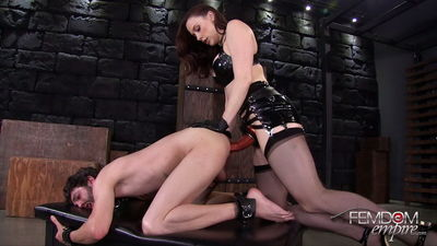 Femdom Empire – Chanel Preston – Stretched & Ass Locked