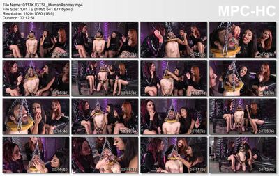 Femdom Empire - Kendra James, Sablique Von Lux, Tangent - Public Ashtray