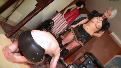 EVS Fetish Femdom – Lady Skara – Reasonable punishment Part 1-3
