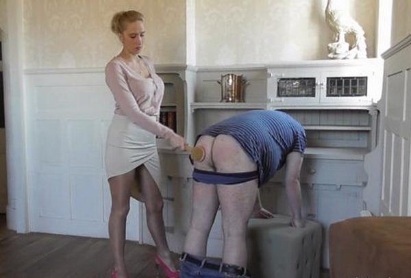 Femdom spanking wmv