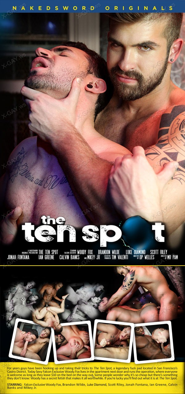 NakedSword: The Ten Spot, Episode Three: Two Tens, One Bed (Jonah Fontana, Ian Greene)