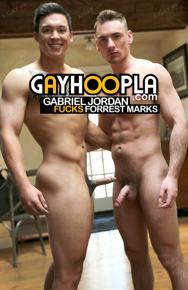 GayHoopla: Gabriel Jordan and Forrest Marks FUCK to Keep Warm