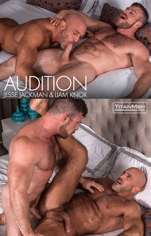 TitanMen: Audition (Liam Knox and Jesse Jackman Flip Fuck)