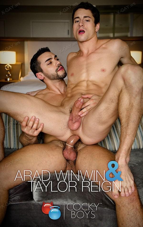 CockyBoys: Arad WinWin Fucks Taylor Reign