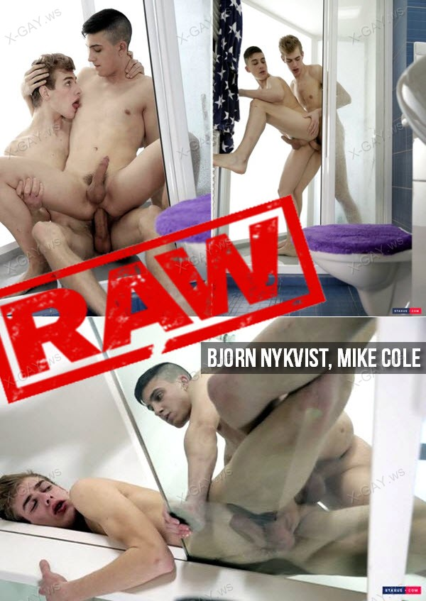 Staxus: College Cock (Bjorn Nykvist, Mike Cole) (Bareback)