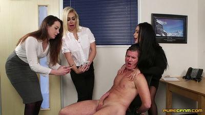 Pure CFNM – Chessie Kay, Hannah Shaw, Zoe Davis – Cock Dancing