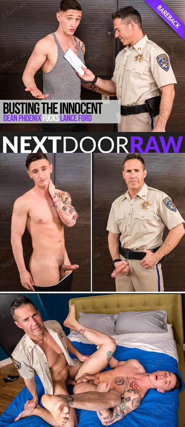 NextDoorRaw: Busting The Innocent (Dean Phoenix, Lance Ford) (Bareback)