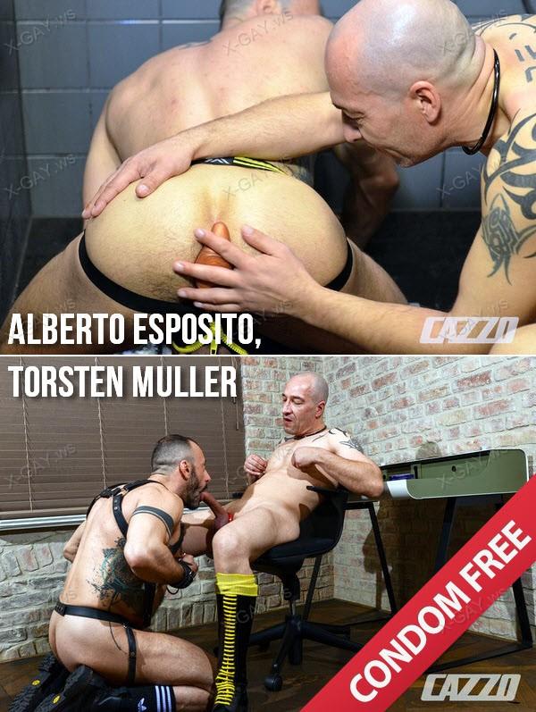 CazzoClub: Alberto Esposito, Torsten Muller (Bareback)