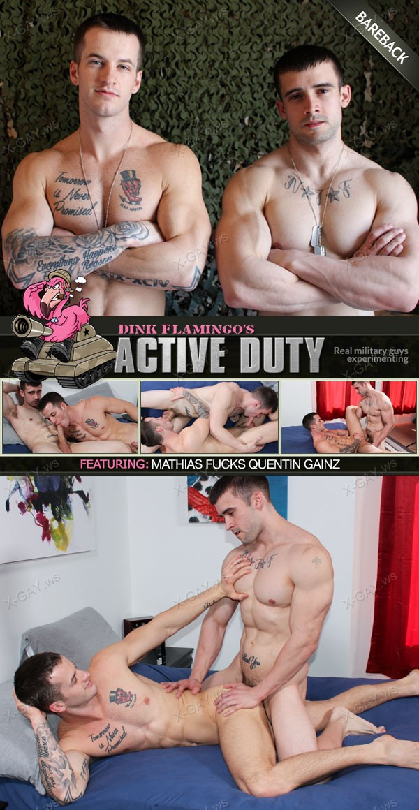 ActiveDuty: Quentin Gainz, Mathias (Bareback)