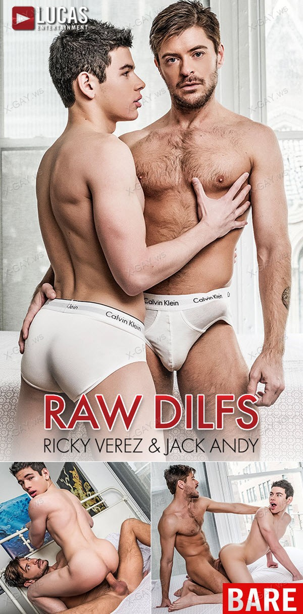 LucasEntertainment: Ricky Verez Services Jack Andy's Hard Nine-Inch Cock (Bareback)