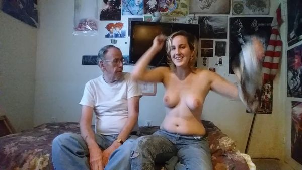 father daughter family nudity