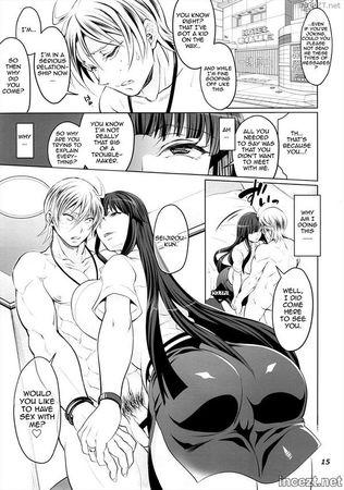 Futanari Yumiko Sensei to Komochi ni natta Ore